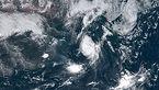 مصدومیت 51 ژاپنی در توفان شدید