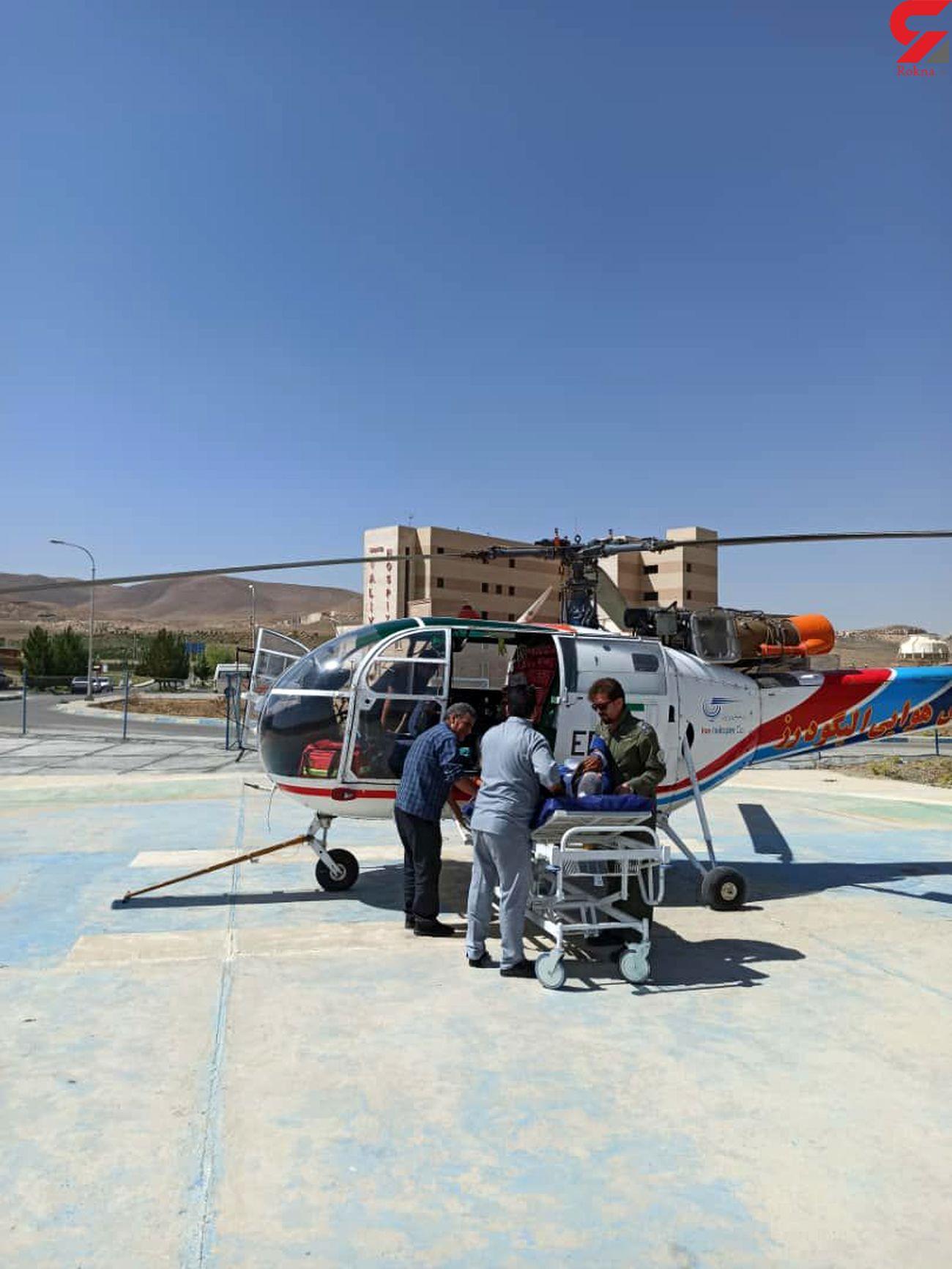 نجات کوهنوردان اراکی در اشترانکوه