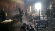 آتش انبار بیمارستان شهید رجایی قزوین را سوزاند
