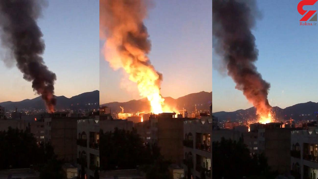 مرگ دردناک 2 پزشک متخصص در حادثه انفجار کلینیک سینا تهران + اسامی فوتی ها و مصدومان