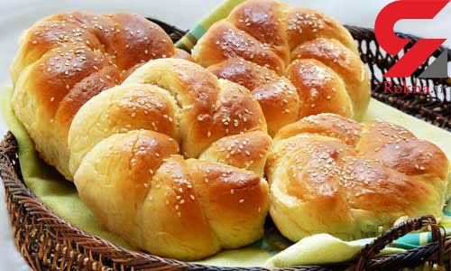 نان شیرمال کشمشی عصرانه ای پاییزی+دستور تهیه