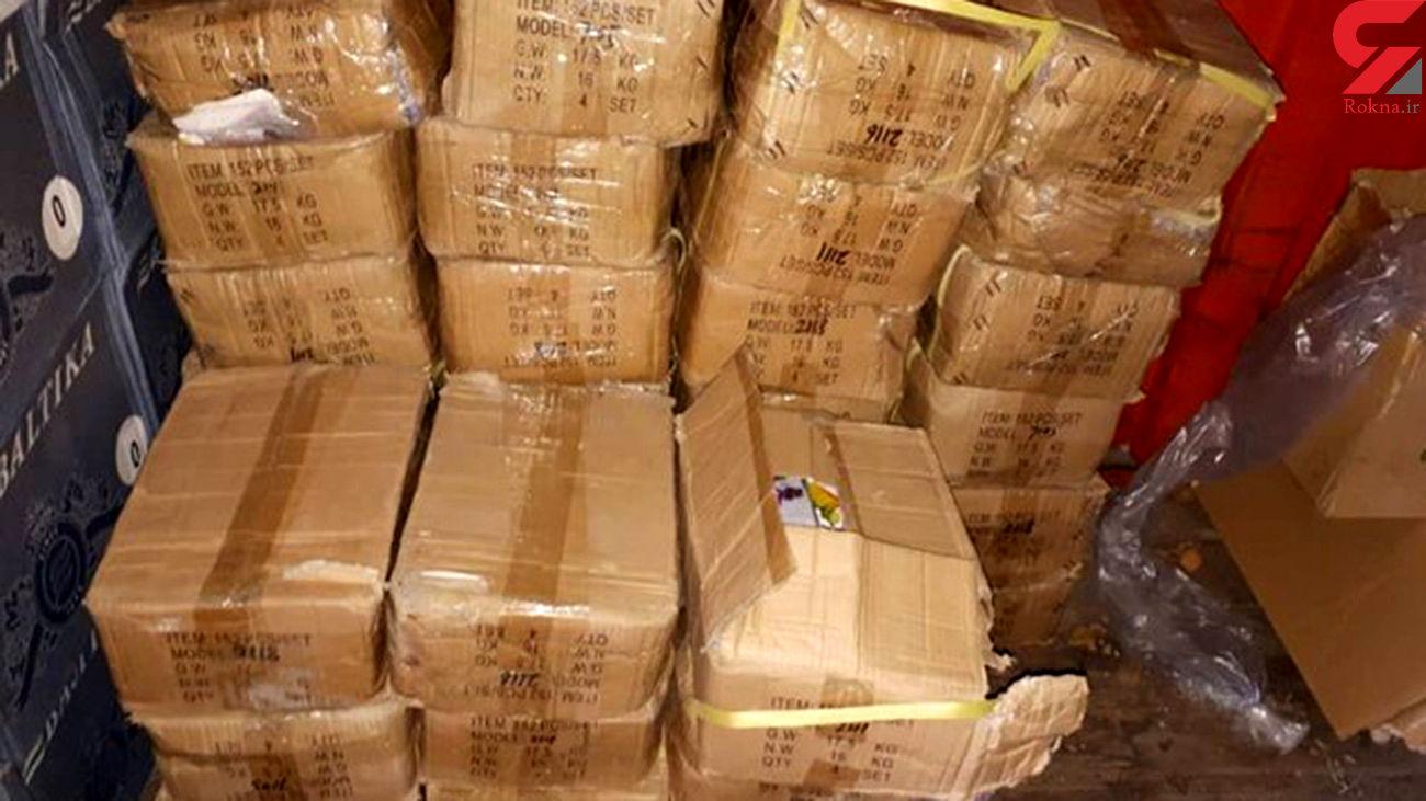 کشف اسپیلت های قاچاق در سوادکوه