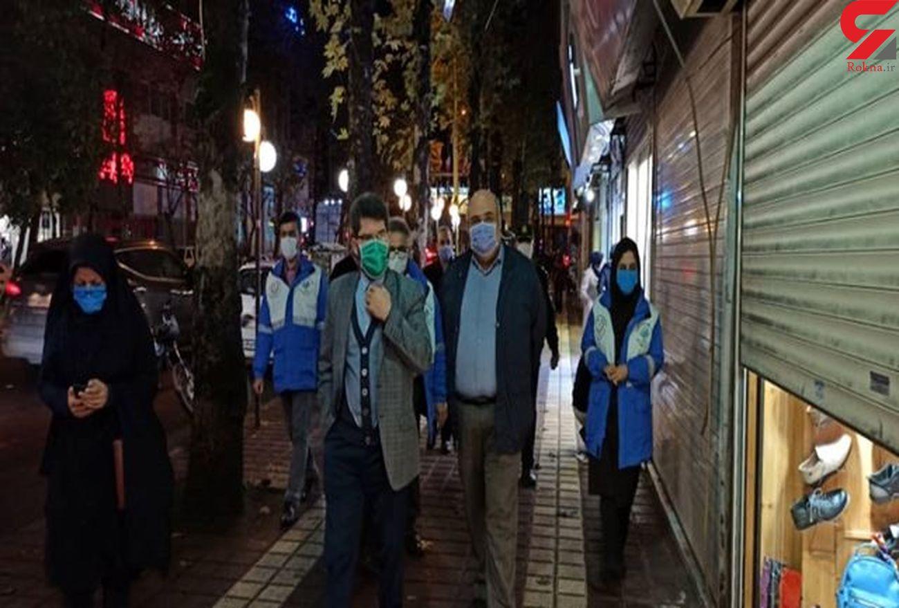 بیش از ۲۰۰ اماکن عمومی در رشت تذکر کرونایی گرفتند/ یک مغازه پلمپ شد +عکس