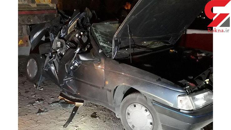 سانحه رانندگی در شهرستان باوی خوزستان سه کشته بر جا گذاشت