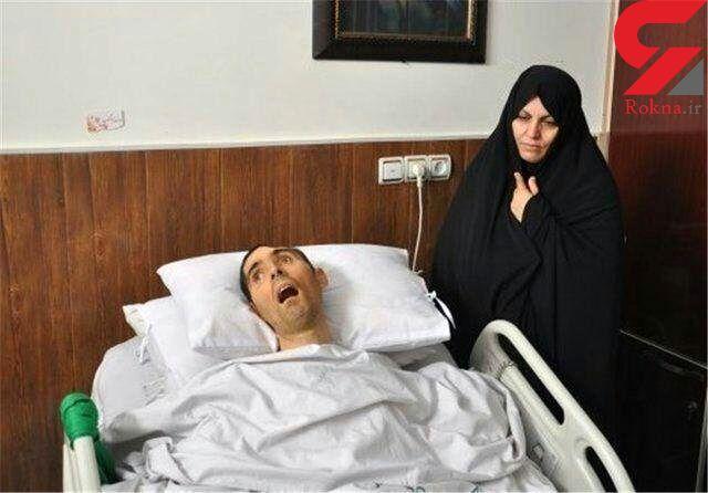 «سید نور خدا» شهید زنده ایران پر کشید + عکس