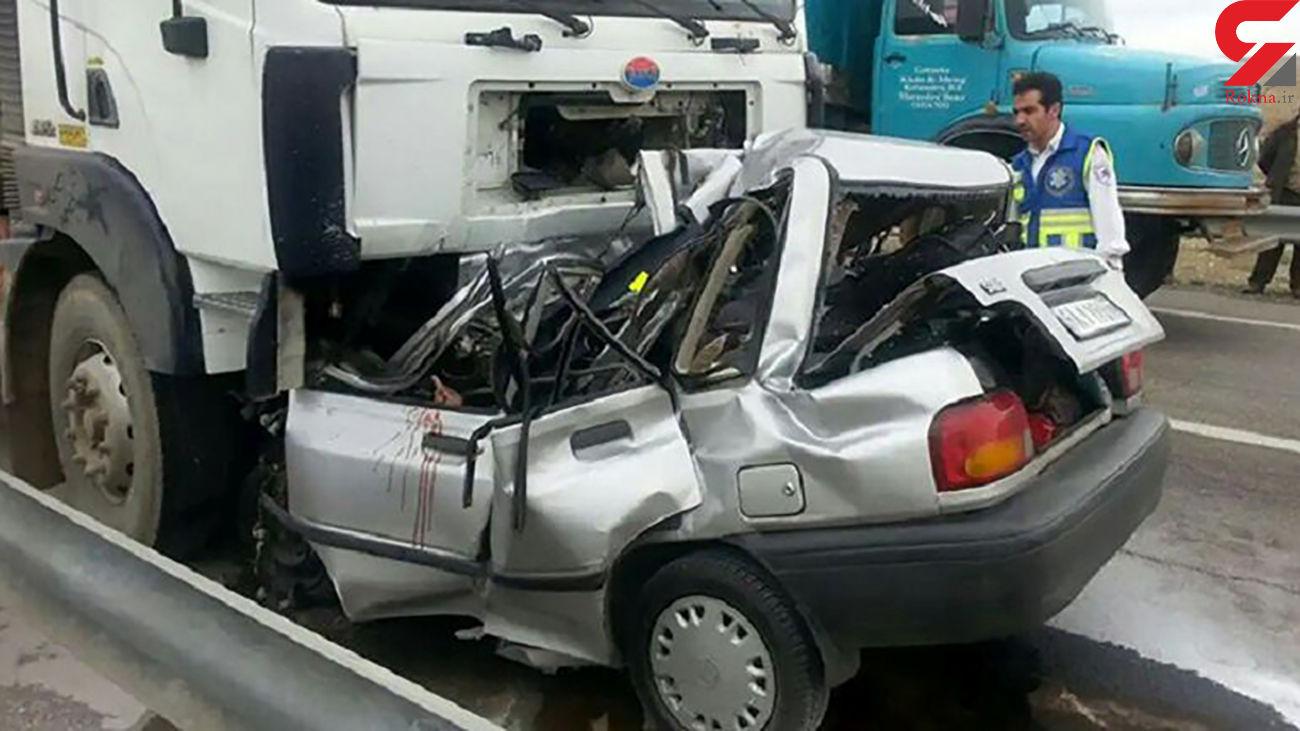 تصادف در خراسان شمالی به استان سمنان 2 کشته داشت