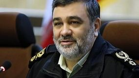 فرمانده ناجا: در رابطه با امنیت با هیچ فردی تعارف نداریم