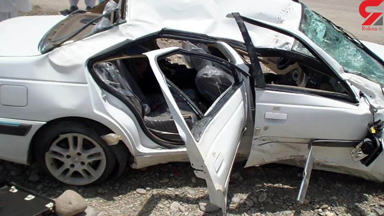 حادثه خونین در جاده مهدی شهر / 7 زن و مرد زخمی شدند