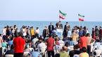 احمدی نژاد ساحل بوشهر را به هم ریخت! + عکس ها