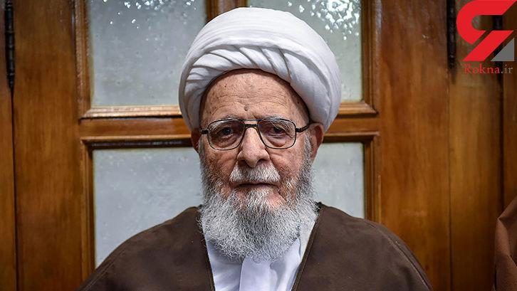 فوری / آیت الله حدائق عالم شیرازی درگذشت