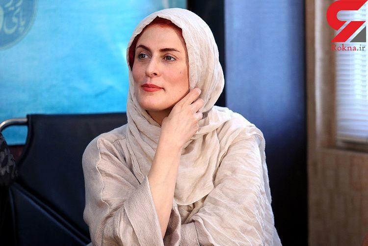 تنهایی خانم بازیگر پر حاشیه در هیاهوی تهران + عکس
