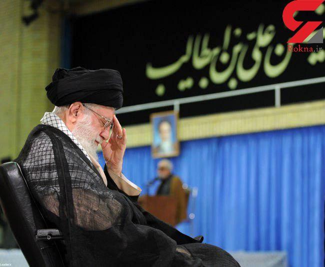مراسم سوگواری امام علی(ع) در محضر رهبر انقلاب