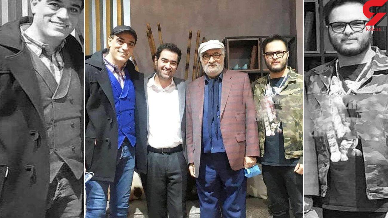 عکس یادگاری شهاب حسینی و داریوش ارجمند با پسرانشان
