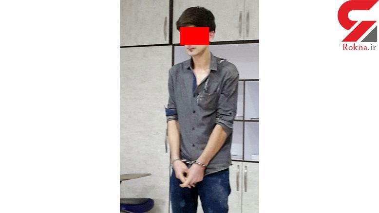 دستگیری سارق آبادانی در زمان دزدی +عکس