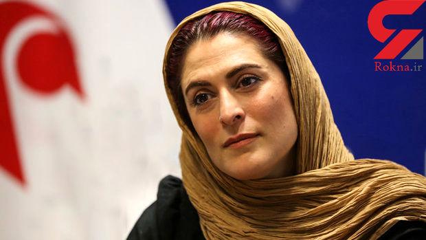 بهناز جعفری در فرودگاه امام خمینی قبل از حضور در کن+ فیلم