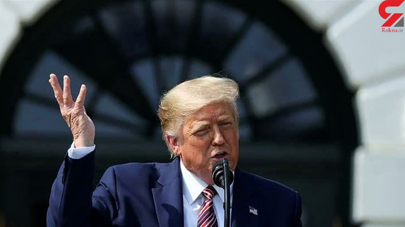 ترامپ خوشحال است! / هفته آینده برنده ام! + عکس