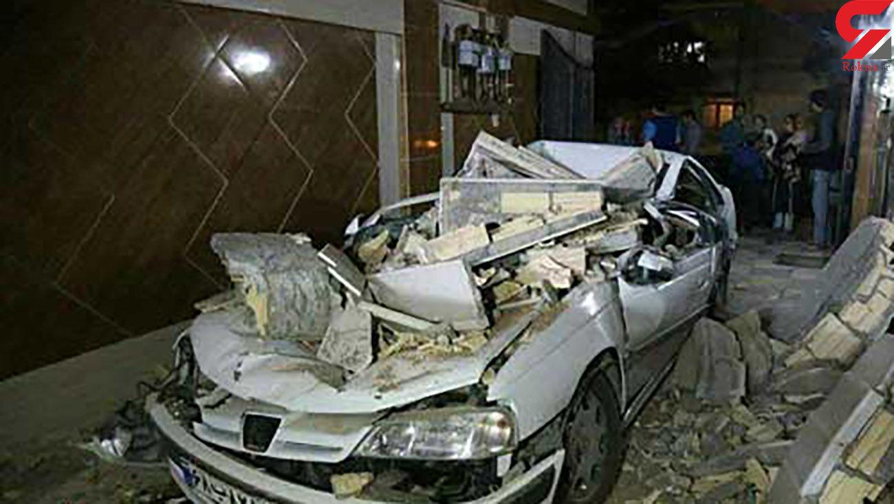 اولین عکس ها و فیلم از از  زلزله ۵.۱ریشتری در رامیان