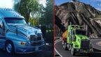 جذاب ترین کامیون های جهان +تصاویر جذاب