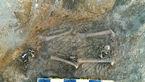 کشف تازه در میدان امام همدان/ کودک ۱۰ ساله قدیمیترین تدفین همدان است + عکس