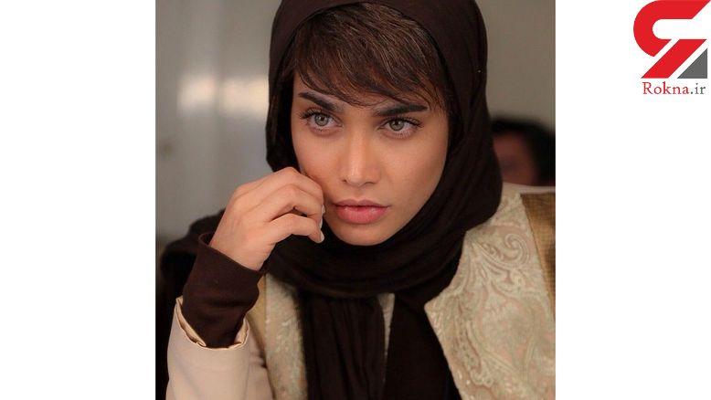 بازیگر زن چشم سبز ایرانی را بدون آرایش ببینید! +عکس