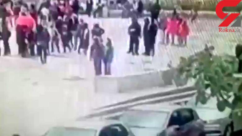 لحظه کشتن عامل تروریستی در پاریس + فیلم