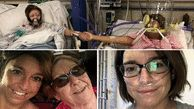 Covid-stricken mum and daughter hold hands in intensive care - 24hrs before mum dies
