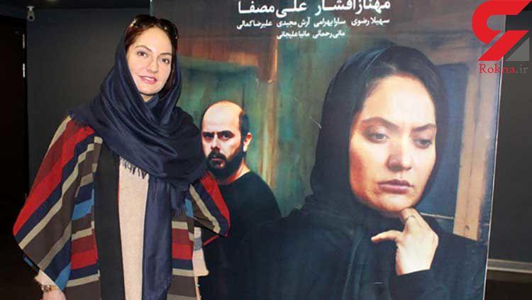 حضور مهناز افشار در اکران مردمی فیلم خانه ای در خیاسان چهل و یکم +تصاویر