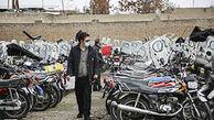 ترخیص موتورسیکلتهای رسوبی در تعطیلات کرونایی همچنان ادامه دارد
