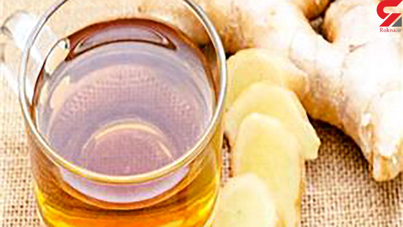 عسل را با زنجبیل و زردچوبه بخورید