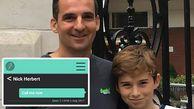اختراع جالب یک پدر برای تنبیه فرزندان+عکس