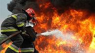 آتش کارگاه مبل سازی در کرمانشاه را خاکستر کرد