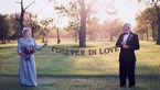 هفتاد سال در انتظار یک عکس عروسی! +تصاویر