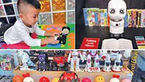 روباتهای چینی جایگزین والدین می شوند + عکس