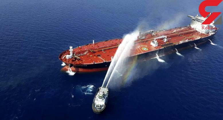 جزییاتی جدید و کامل از انفجار 2 کشتی در دریای عمان + عکس
