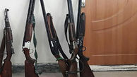 ضبط سه قبضه سلاح شکاری در شهرستان سیاهکل