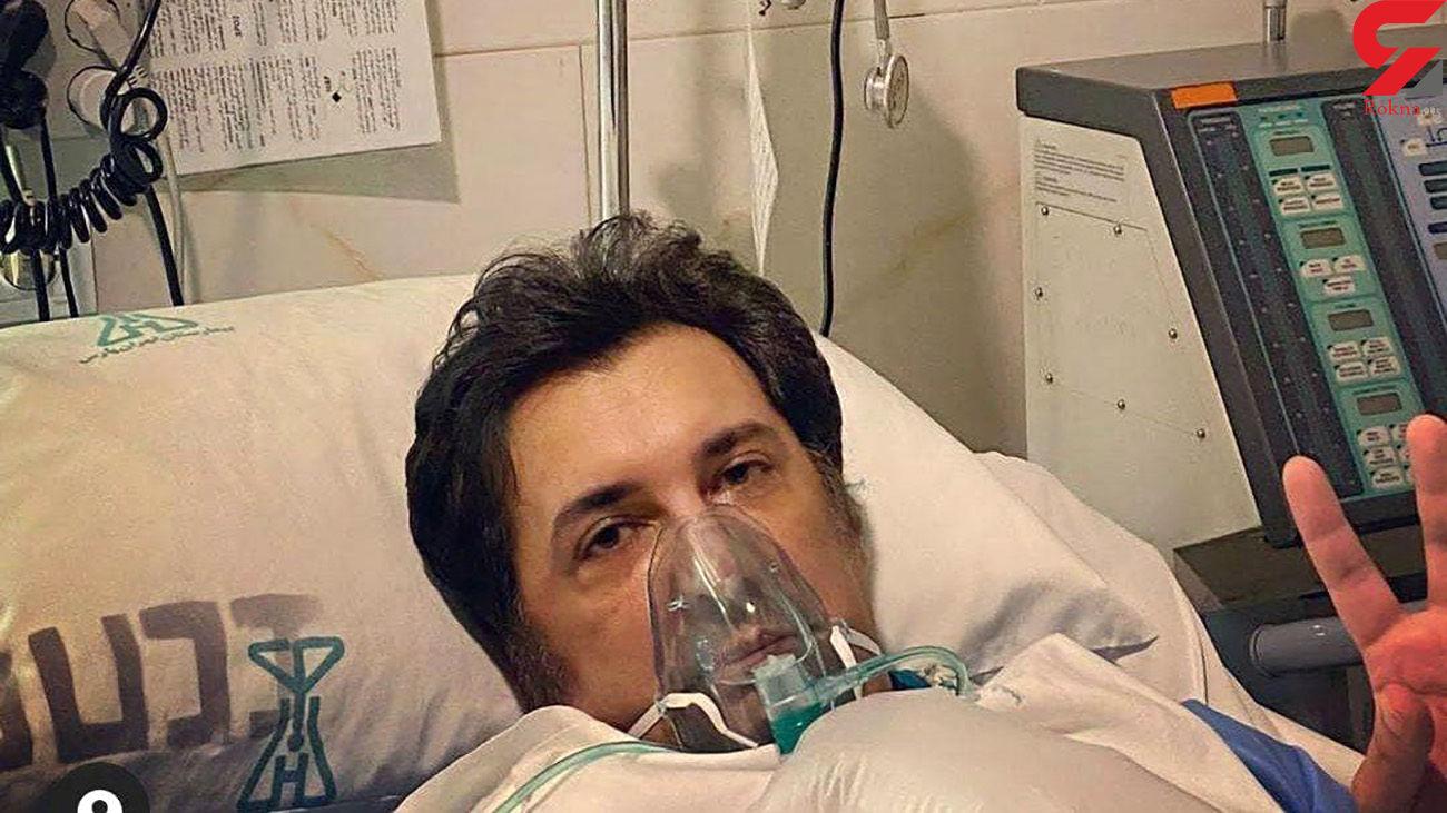 جشن در بیمارستان برای بهبود حال حسام نواب صفوی + فیلم