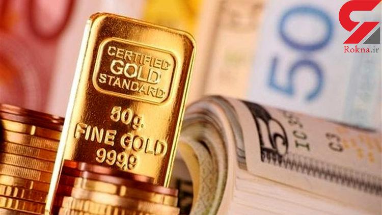 قیمت طلا، سکه و ارز امروز ۹۸/۰۲/۲۱