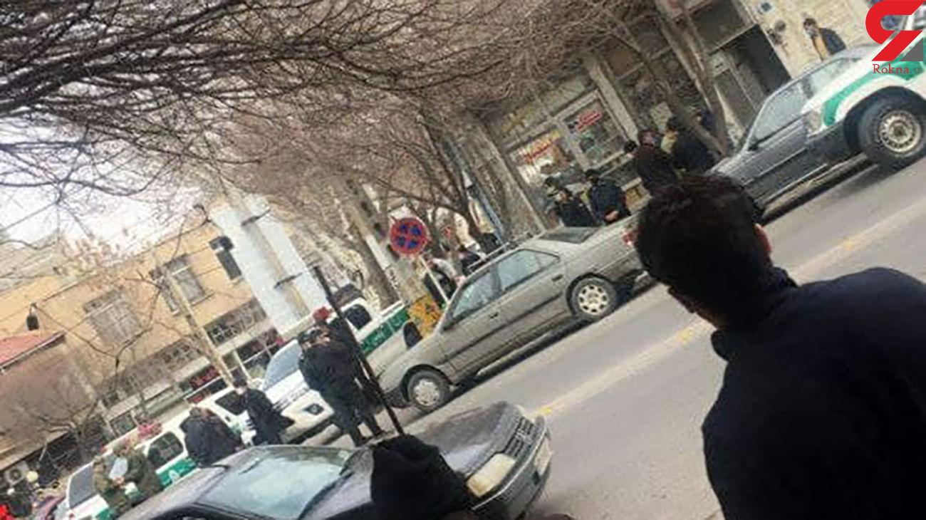 شلیک به دختر تبریزی در روز روشن وسط خیابان + عکس لحظه