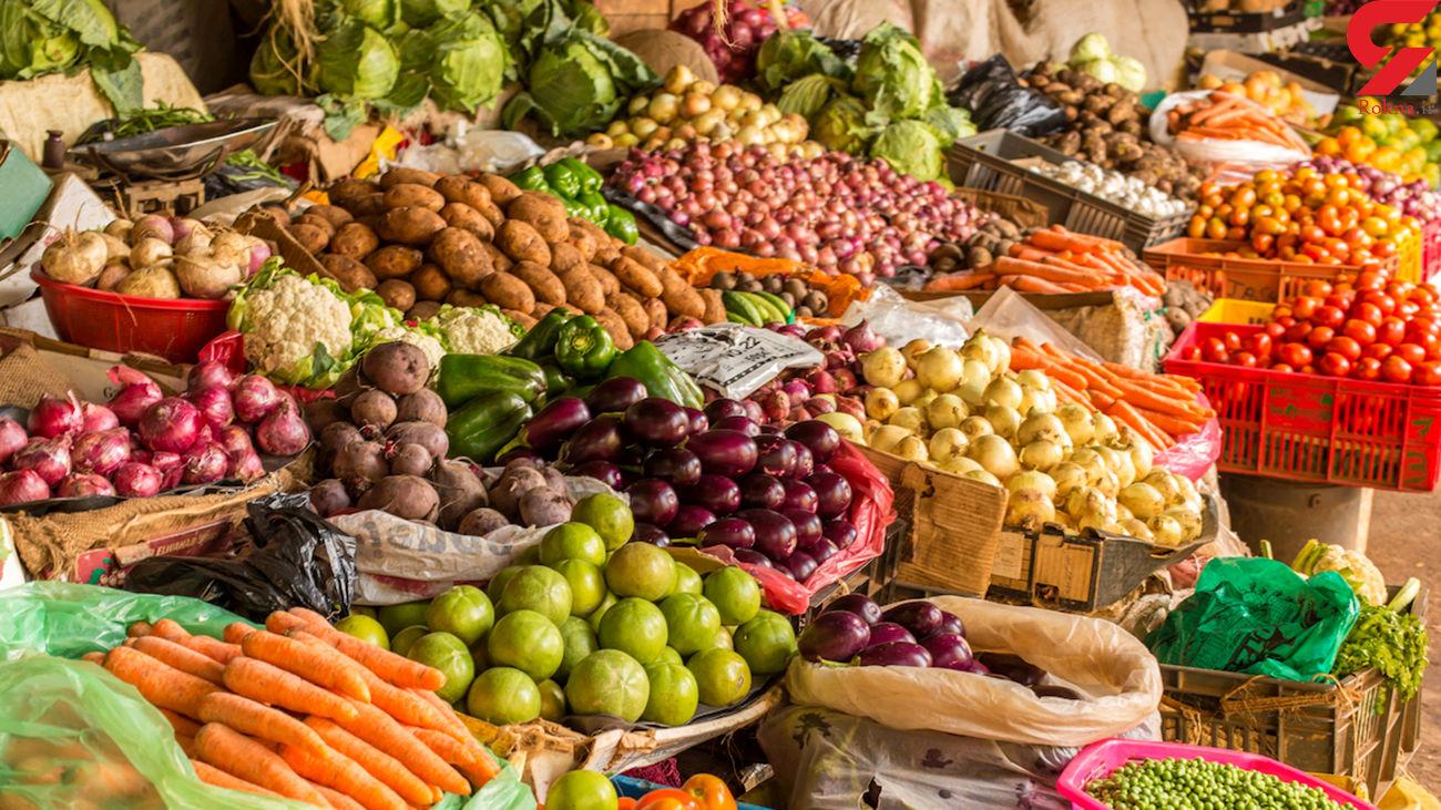 قیمت میوه و سبزی پنجشنبه 13 آذر 99 + جدول