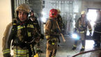 آخرین عکس های فرمانده امینی شهید آتشنشان قبل از فرو ریختن پلاسکو+تصاویر