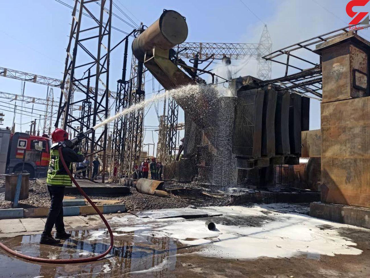 پشت پرده حادثه انفجار نیروگاه برق اهواز / علت اصلی چه بود؟+ فیلم