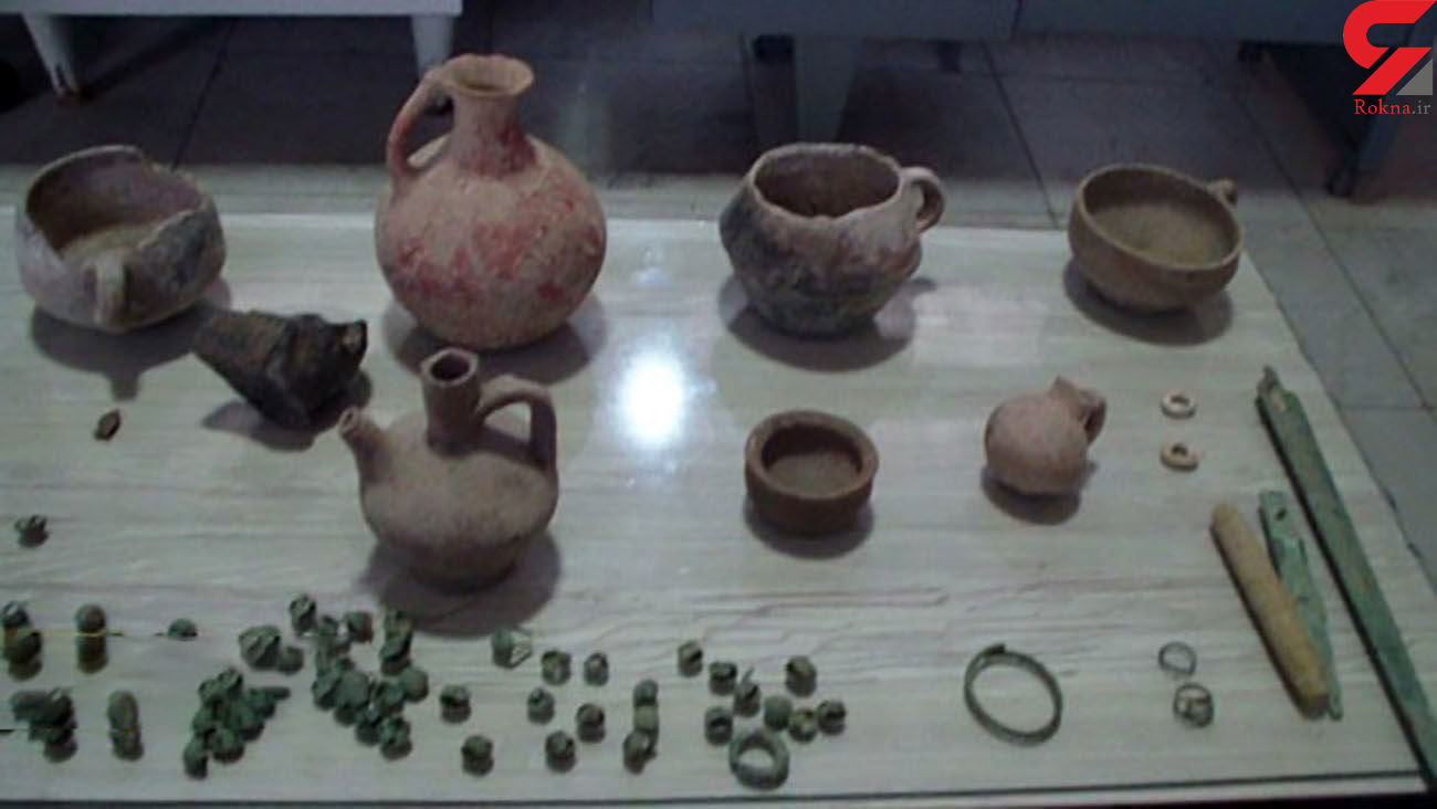 کشف اشیاء عتیقه دوران 3 هزار سال قبل در اصفهان