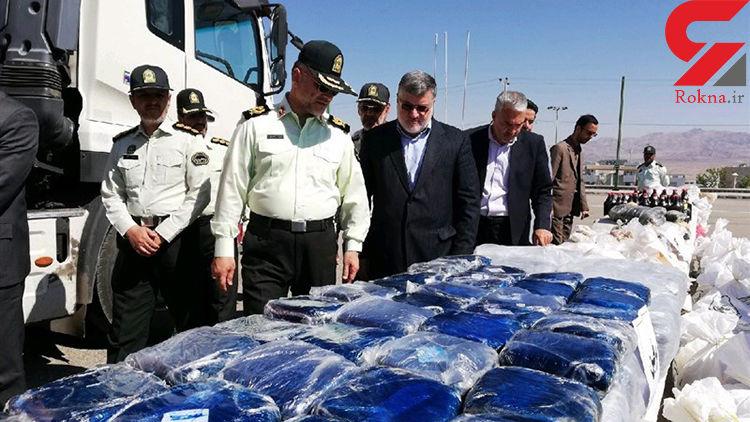 کشف 1 تن مواد افیونی در خراسان جنوبی