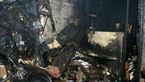 سونای خشک ساختمانی در شرق تهران آتش گرفت +تصاویر