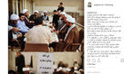 صبحانه سیاسی ضرغامی با مخالفان روحانی در قم !  + عکس