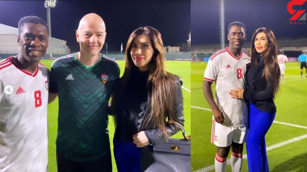 دیدار سیدورف با اینفانتینو در امارات