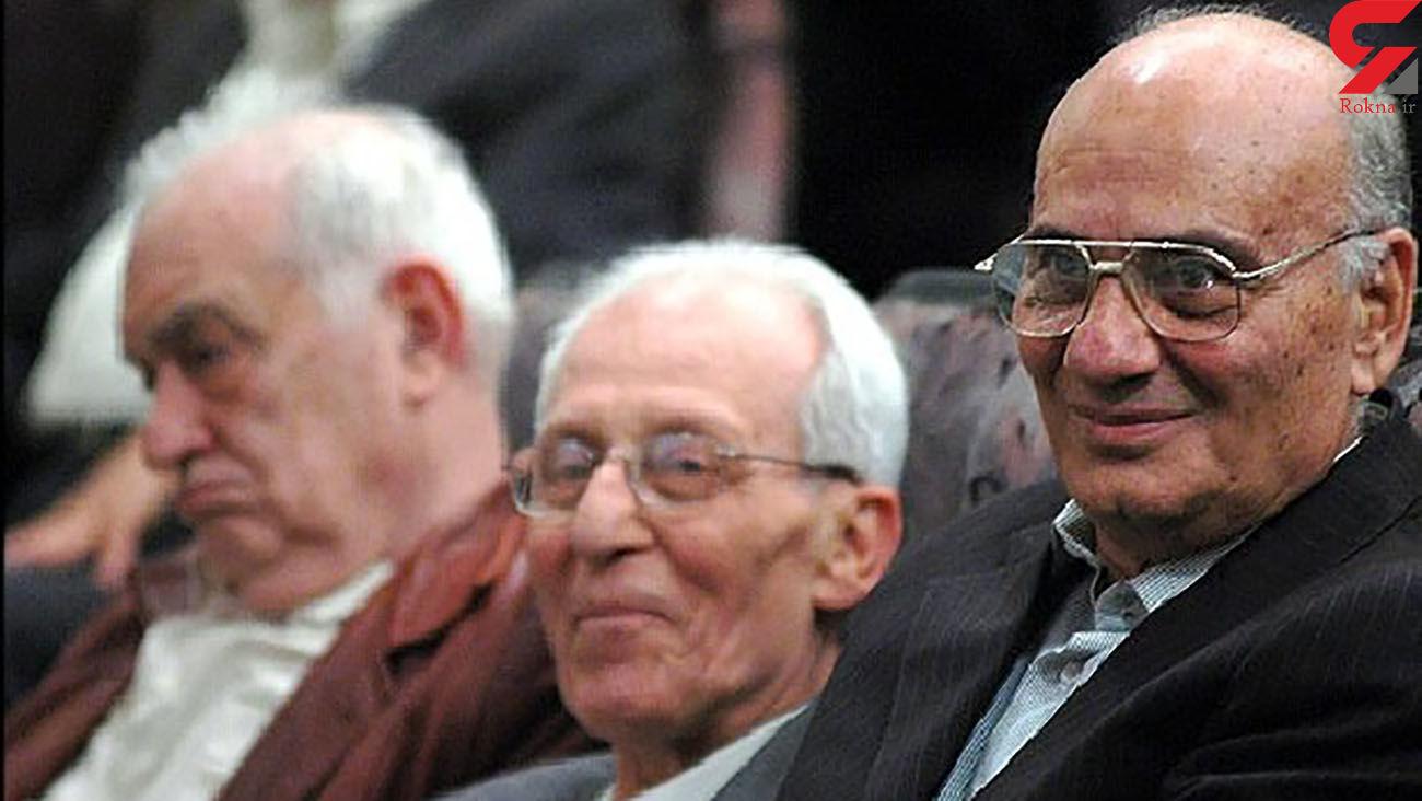 فوت پدر متالورژی ایران + عکس
