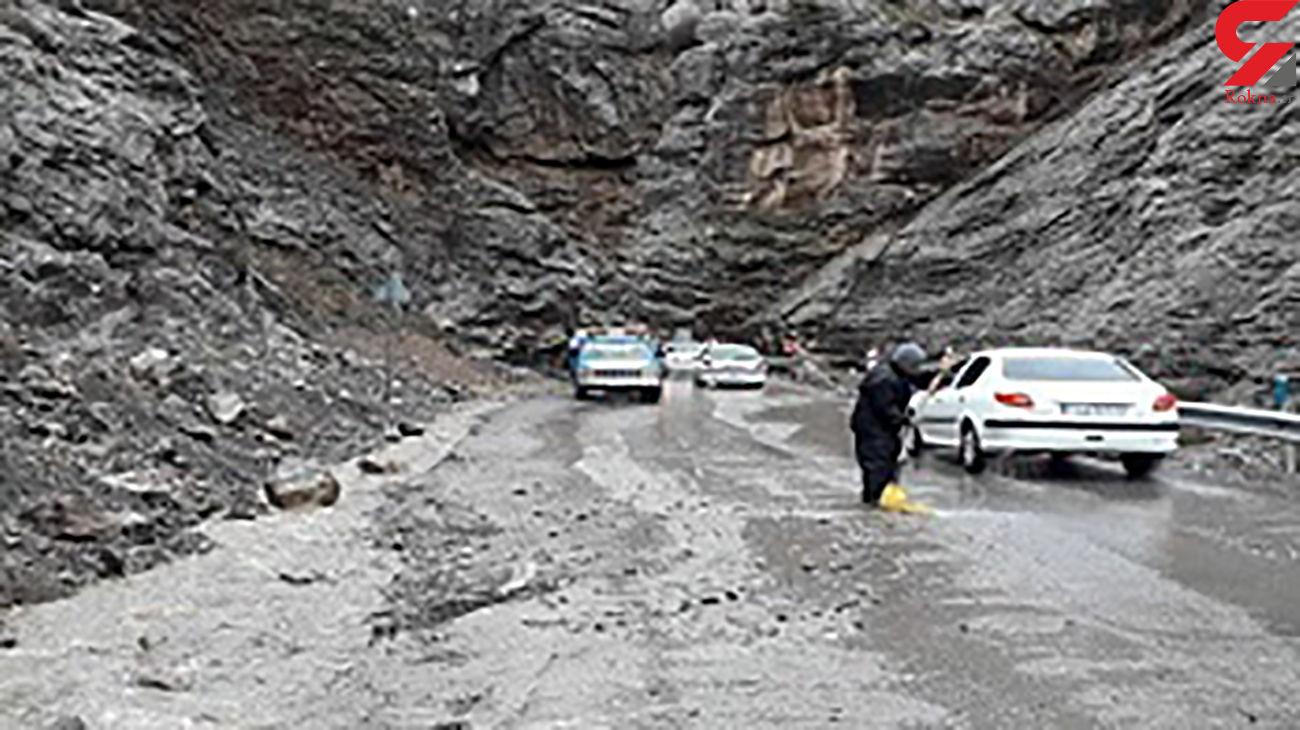مسافران در جاده هراز غافلگیر شدند + جزئیات