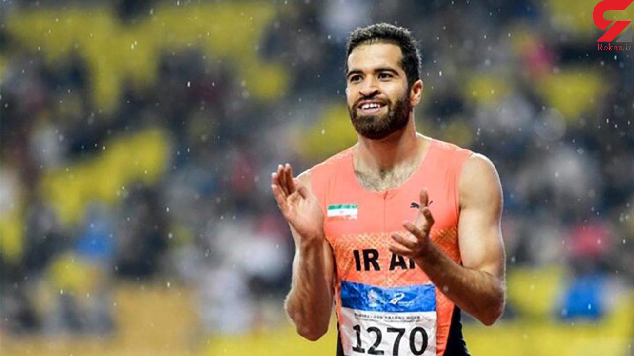 سرقت کفشهای حسن تفتیان نماینده ایران در المپیک + فیلم