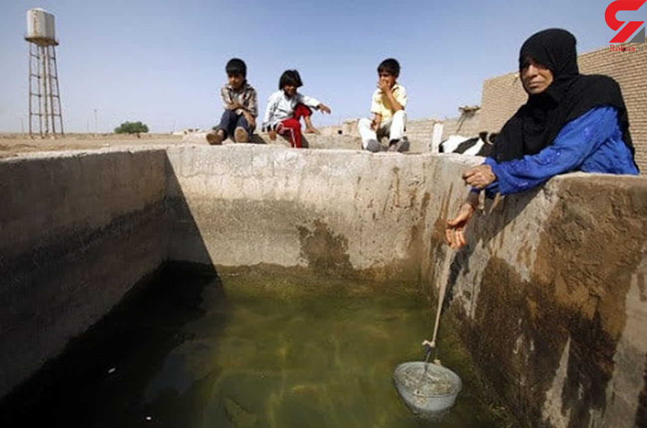 15 سال تشنگی برای 20 هزار نفر در 200 متری سد / آب مایع آزار و بیماری کودکان خوزستان است